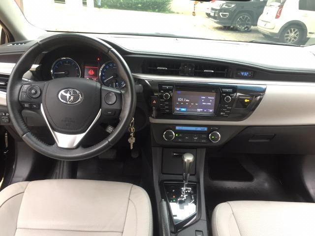 Corolla XEI 2.0 automático flex 2016/2017 - 42.000 km rodados - Foto 16