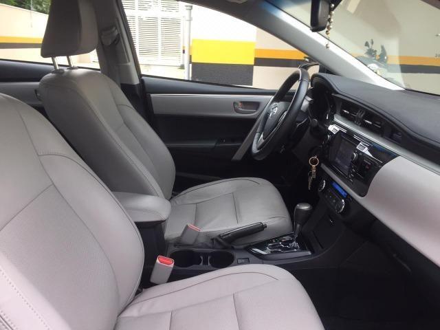 Corolla XEI 2.0 automático flex 2016/2017 - 42.000 km rodados - Foto 13