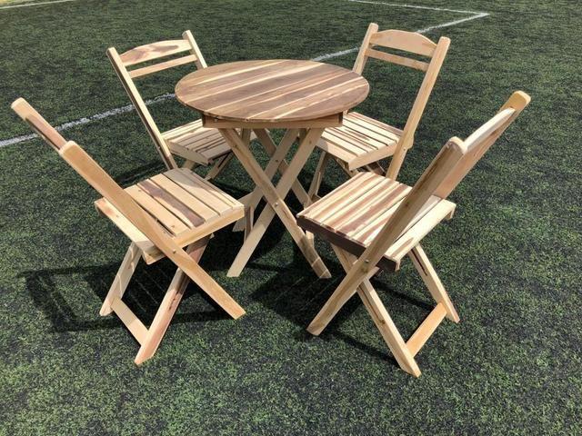 Mesas e cadeiras dobráveis para seu estabelecimento - Foto 2