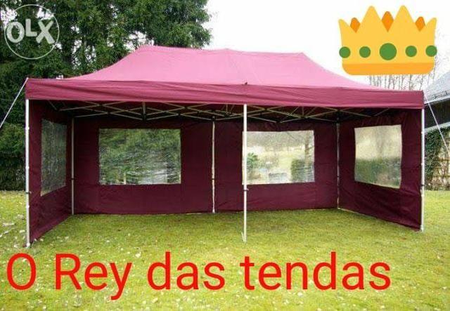 Tenda sanfonada com garantia e velcro grátis