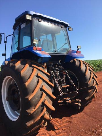 Trator new holland tm7020 ano 2009 - Foto 2