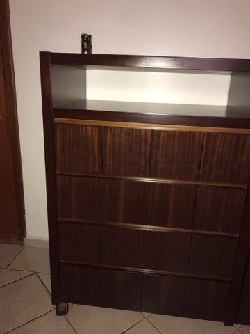 Cômoda de madeira prensada - Foto 6