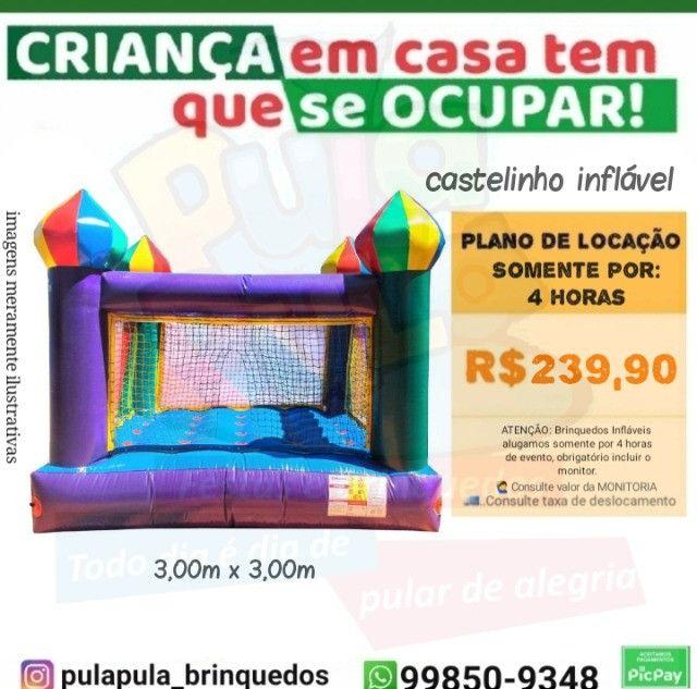 Aluguel - Tobogãs infláveis em Promoção! venha conferir - Foto 2
