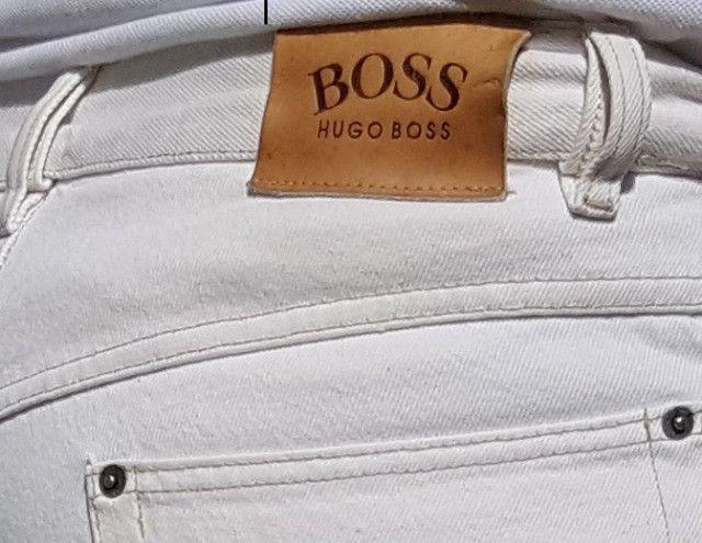 Calça Jeans Hugo Boss fabricado na Alemanha - Foto 2
