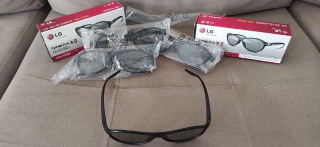 Óculos 3D AG-F310 (4 unidades) - Foto 4