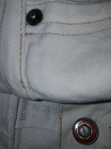 Calça Jeans Hugo Boss fabricado na Alemanha - Foto 3