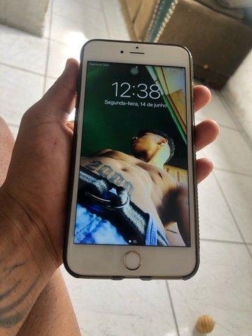 Troco iPhone X mais um iPhone 6splus