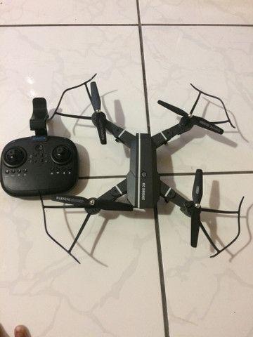 Drone sem marcas de usado, pouco usado! - Foto 2
