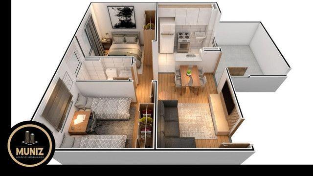 6R Apartamento de 2 quartos com Entrada Facilitada em 60x, Rio doce , Piscina!