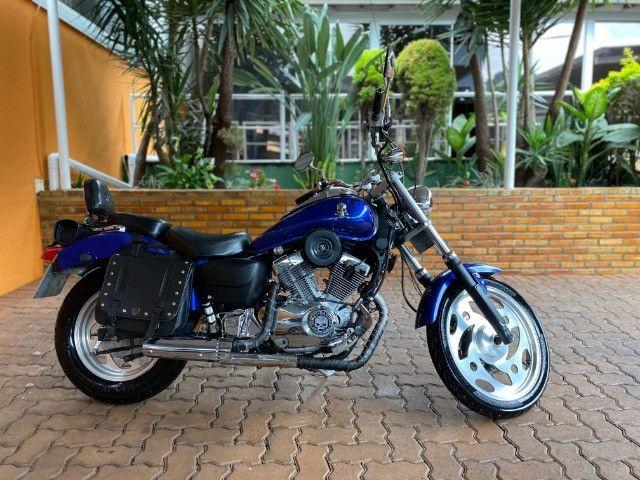 Moto Sundown V Blade Custom 2008 cheia de acessórios, apenas 3.000 Km!