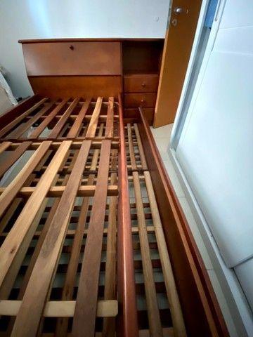 Bicama em madeira maciça