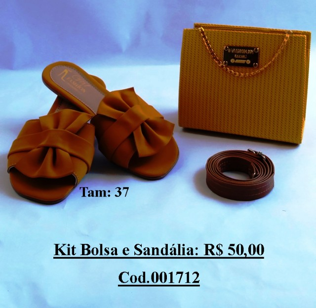 Kit Sandalia + Bolsa - Foto 5