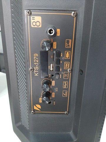 Caixa De Som Com microfone sem fio  - Foto 4