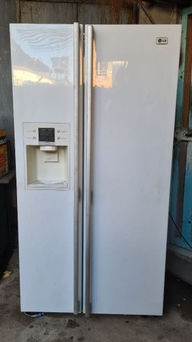 Geladeira LG sode by side 430 litros