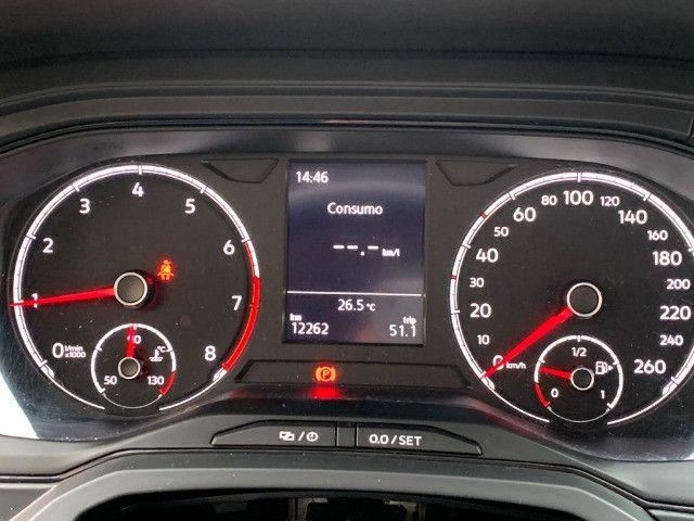 Volkswagen POLO 1.0 FLEX 12V 5P 2020 Novissimo com apenas 12 mil km - Foto 9