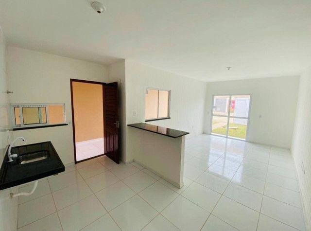 JP casa nova com 89m² com 2 quartos 2 banheiros a 15 minutos de messejana - Foto 4