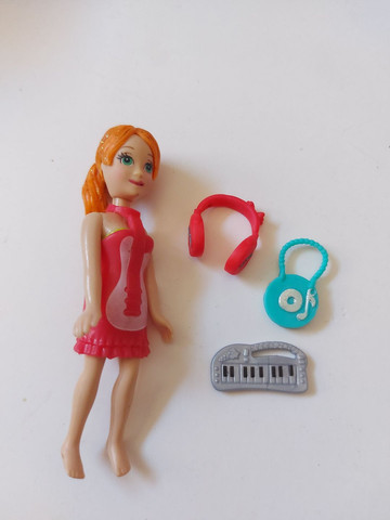 Polly com teclado