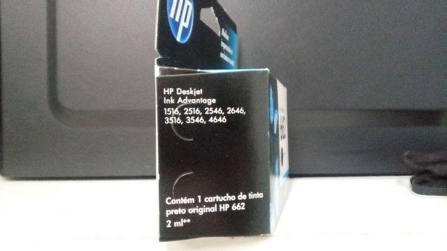 Cartucho Ink Advantage 662 Lacrado - Foto 2
