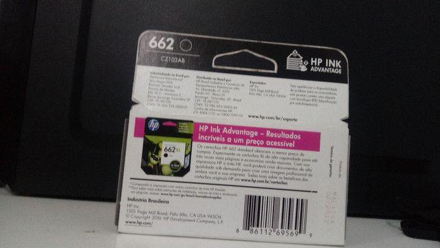 Cartucho Ink Advantage 662 Lacrado - Foto 3