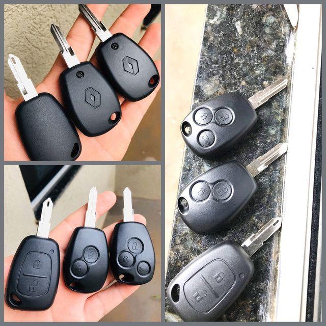 Chave Codificada Renault  - Foto 3