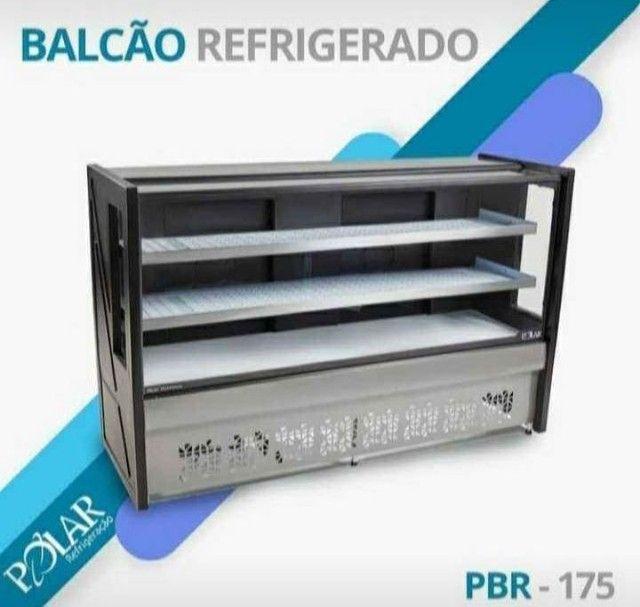 Balcão Refrigerado frios laticínios 1,75 MT aparti $5.489 - Foto 2