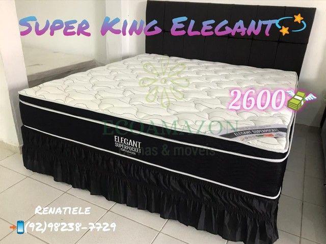 Cama super king elegant // PROMOÇÃO ESPECIAL