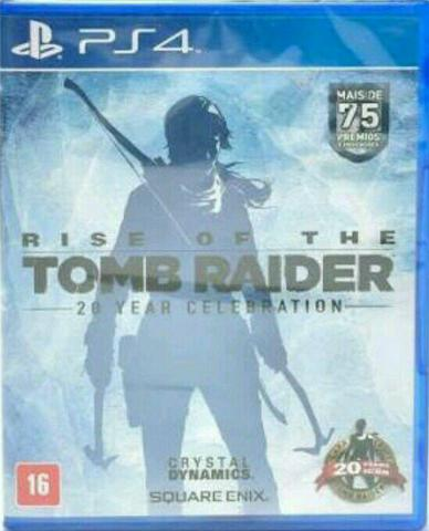 Rise of the Tomb Raider 20 year celebration Ps4 (midia fisica)