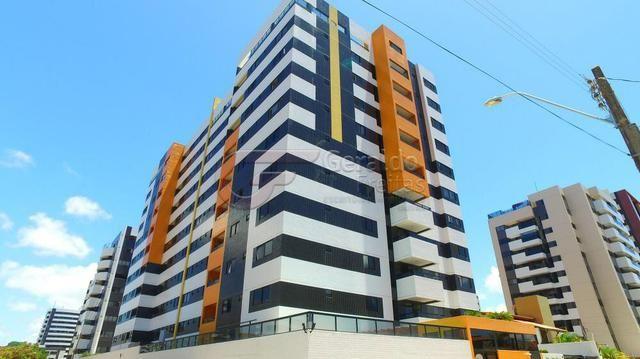 Apartamento Mobiliado 3/4 + DCE Jatiúca 112M2