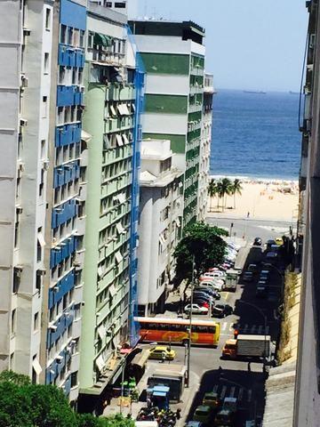 Copacabana quarto e sala mobiliado