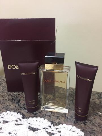 Vendo kit perfume dolce gabbana pour femme