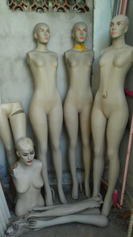 Lote de manequins para lojas