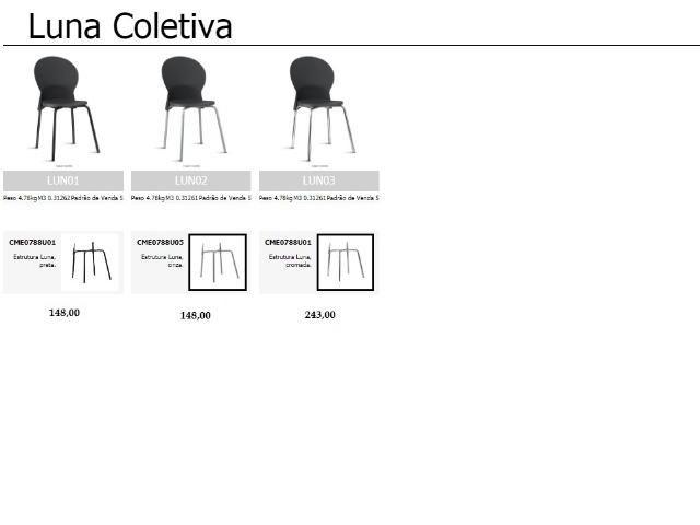 Cadeiras de escritório, linha office, praça alimentação, cadeira - Foto 2