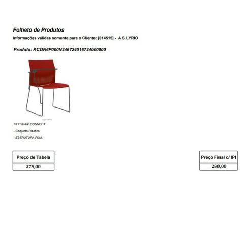 Cadeiras de escritório, linha office, praça alimentação, cadeira