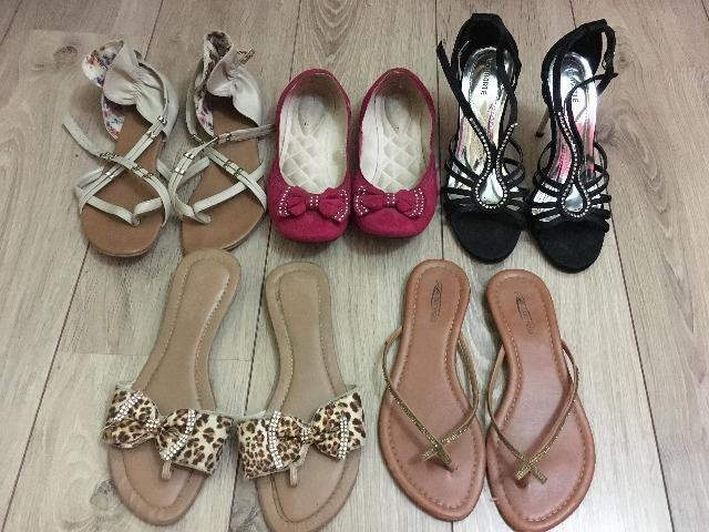 3c2bc5399 5 Calçados por R$50,00 - Roupas e calçados - Alto Boqueirão ...