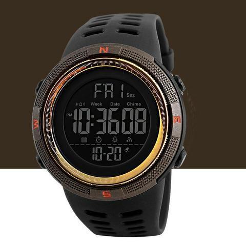 de6cb7b21 Relógio Masculino Digital Esportivo Prova D água Skmei 1251 ...