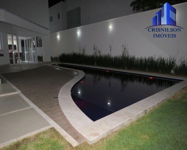 Casa à venda alphaville salvador ii, nova, r$ 2.400.000,00, piscina, espaço gourmet! - Foto 6