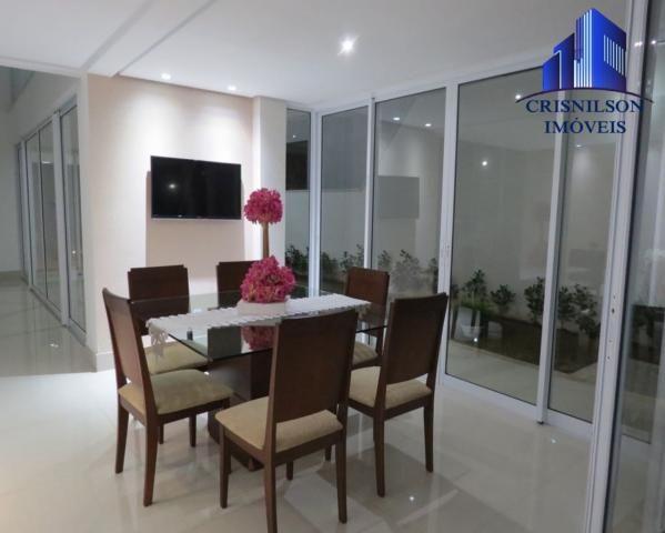 Casa à venda alphaville salvador ii, nova, r$ 2.400.000,00, piscina, espaço gourmet! - Foto 10