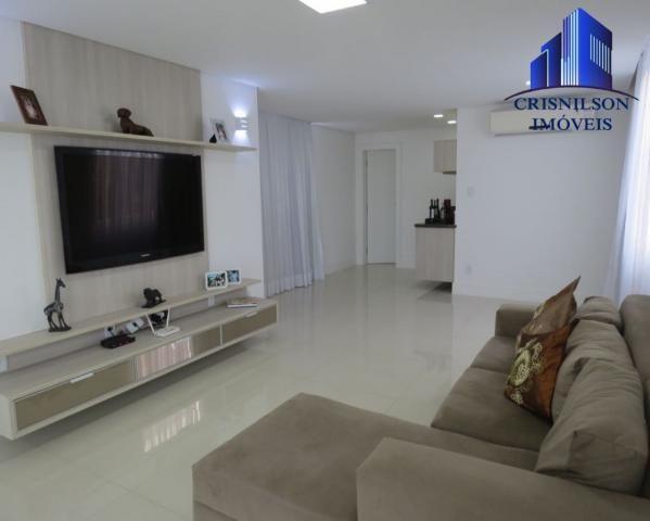 Casa à venda alphaville salvador ii, nova, r$ 2.400.000,00, piscina, espaço gourmet! - Foto 14