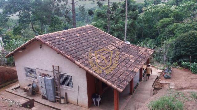 Chácara à venda, 2800 m² por r$ 230.000,00 - pessegueiros - teresópolis/rj