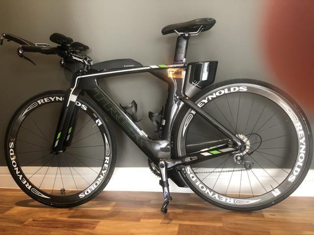 Bicicleta TREK (Bike) TT Carbono Speed Concept - Foto 5