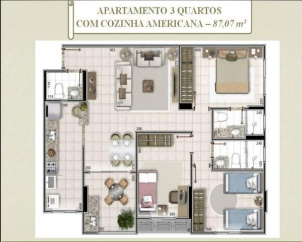 Venda apartamento edifício solar campinas em goiânia on line 62. 999.459.921 - Foto 2