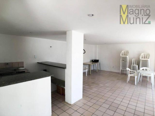 Apartamento projetado com 3 dormitórios, 2 vagas, à venda, 110 m², por r$ 275.000 - papicu - Foto 19