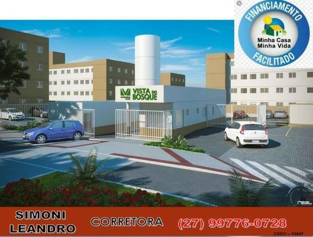 SCL - 34 - Apartamento 2 quartos, quintal, lazer completo, elevador, (entrada facilitada)