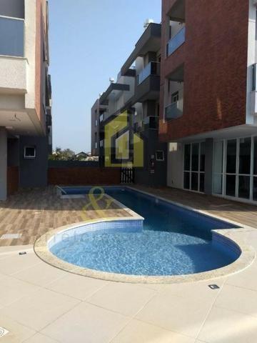 MS5&1-Apto mobiliado em prédio com piscina a 1km da praia dos Ingleses - Foto 2