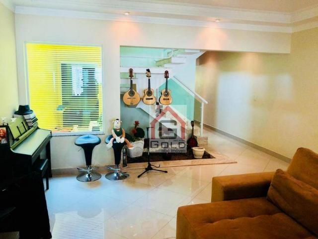 Sobrado com 3 dormitórios à venda, 195 m² por R$ 850.000 - Parque das Nações - Santo André - Foto 5