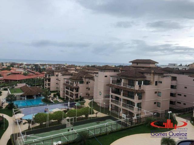 Apartamento com 3 dormitórios à venda, 136 m² por R$ 650.000,00 - Porto das Dunas - Aquira - Foto 9