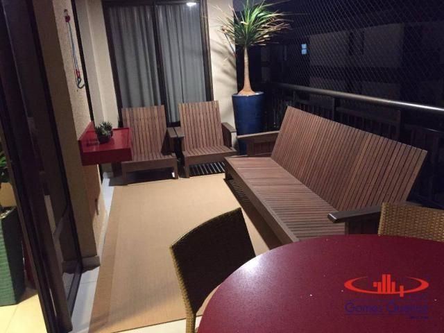 Apartamento com 3 dormitórios à venda, 118 m² - Porto das Dunas - Aquiraz/CE - Foto 9