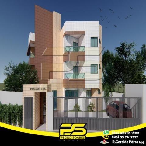 Apartamento com 2 dormitórios à venda, 47 m² por R$ 165.000 - Castelo Branco - João Pessoa - Foto 3