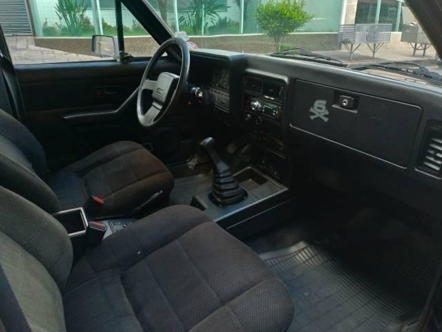 Opala diplomata 1988 completo carro placa preta leia discrição - Foto 6