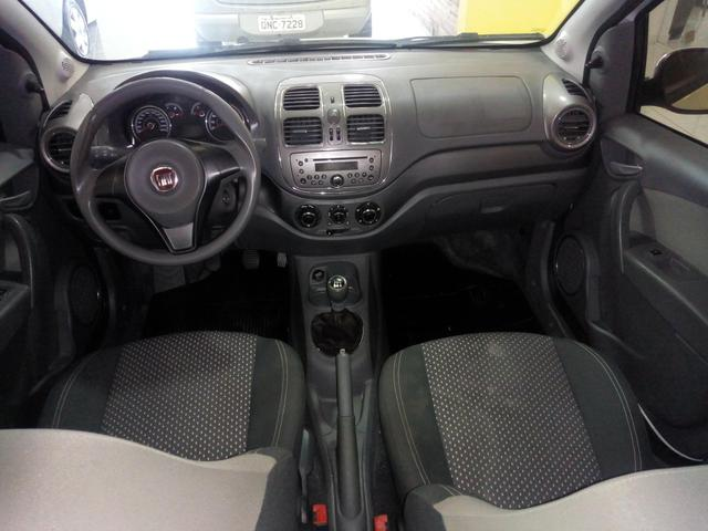 Fiat Grand Siena 1.6 + GNV , IPVA 2020 grátis Ent+ 48x 925,00 - Foto 6